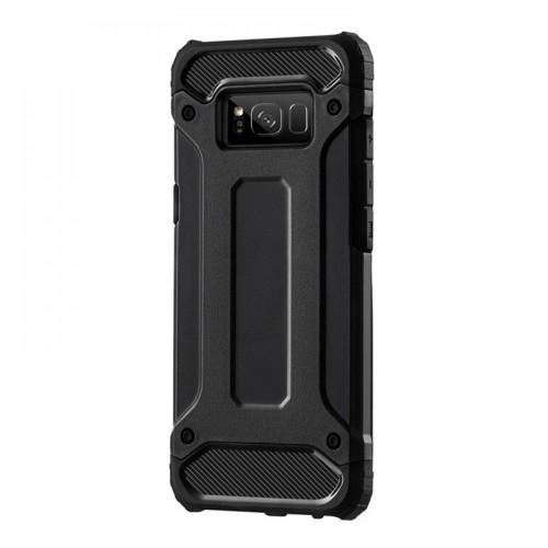Θήκη MyMobi Hybrid Armor Back Cover για Samsung Galaxy A12 (Μαύρο)