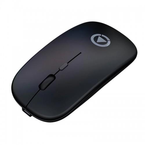 Ασύρματο Ποντίκι Yindiao A2 με LED Φωτισμό (Charging Version) (Μαύρο)