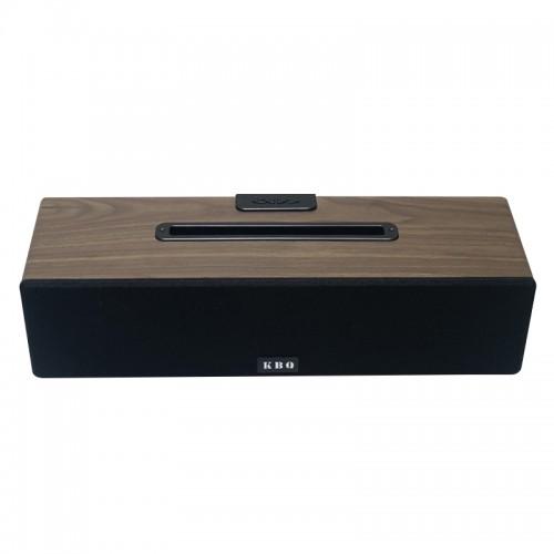 Ασύρματο Ηχείο Bluetooth KBQ Wood 2 (Μαύρο)