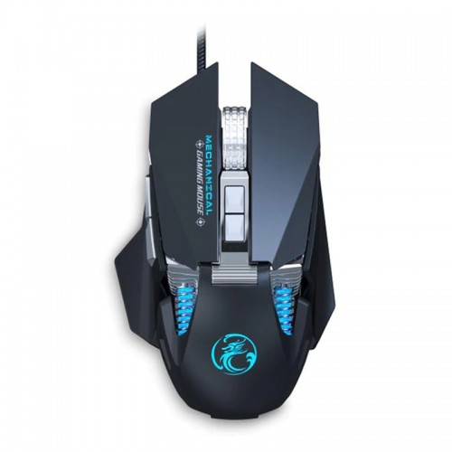 Gaming Ενσύρματο Μηχανικό RGB Ποντίκι iMice Τ96 (Μαύρο)