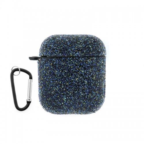 Θήκη Silicone Glitter για Apple AirPods (Μαύρο)