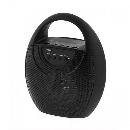 Ασύρματο Φορητό Bluetooth Ηχείο 706 (Μαύρο)