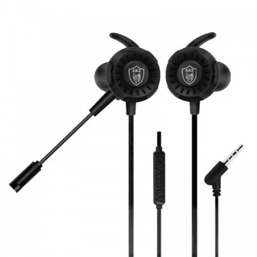 Gaming Ενσύρματο Headset AKZ GM-D1 με Μικρόφωνο (Μαύρο)