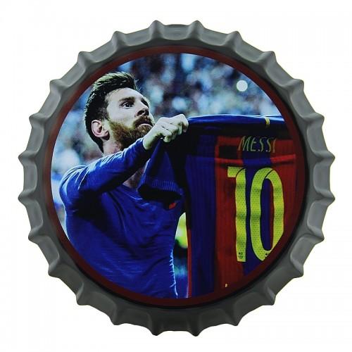 Διακοσμητικό Τοίχου Καπάκι Lionel Messi 10 (Design)