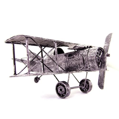 Μεταλλικό Διακοσμητικό Αεροπλανάκι