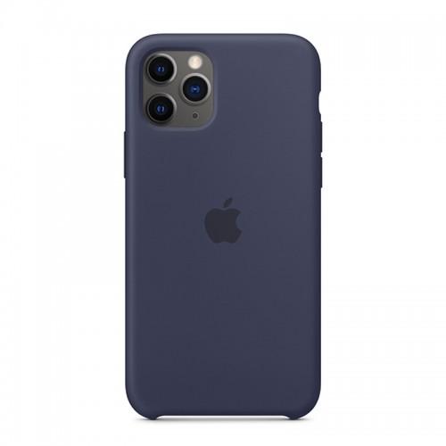 Θήκη Original Apple Silicone Case για iPhone 11 Pro (MWYJ2ZM/A) (Midnight Blue)