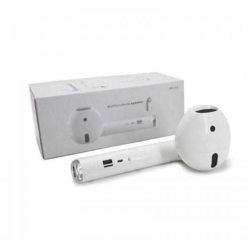 Ασύρματο Ηχείο Bluetooth MK-101 σε Σχήμα Ακουστικό (Άσπρο)