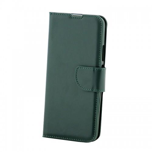 Θήκη MyMobi Flip Cover για Huawei P Smart (Σκούρο Πράσινο)