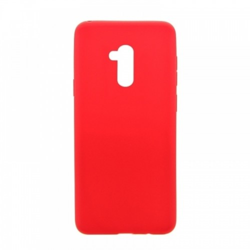 Θήκη MyMobi Σιλικόνης Mat Back Cover για Samsung Galaxy A12 (Κόκκινο)