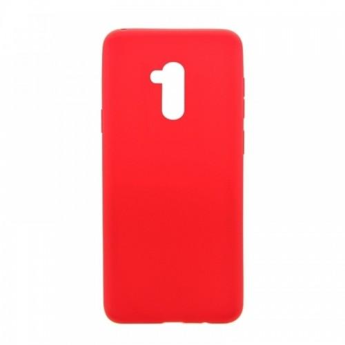 Θήκη MyMobi Σιλικόνης Mat Back Cover για Xiaomi Mi 11i/ Redmi K40/ Redmi K40 Pro/ Poco F3 (Κόκκινο)