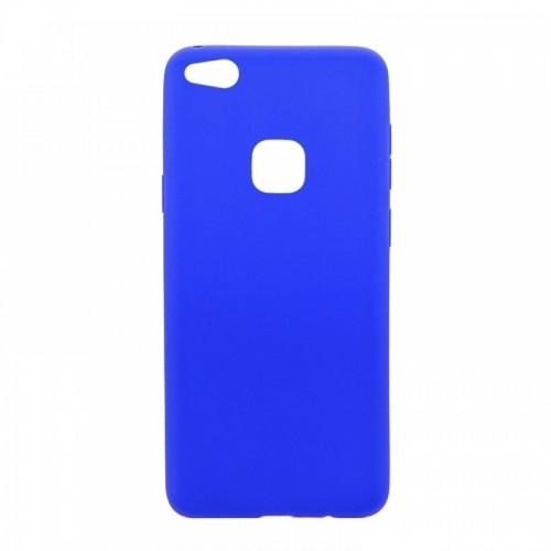 Θήκη MyMobi Σιλικόνης Mat Back Cover για Samsung Galaxy A12 (Μπλε)