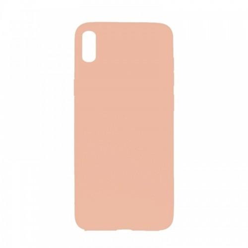 Θήκη MyMobi Σιλικόνης Mat Back Cover για Samsung Galaxy A12 (Ροζ)