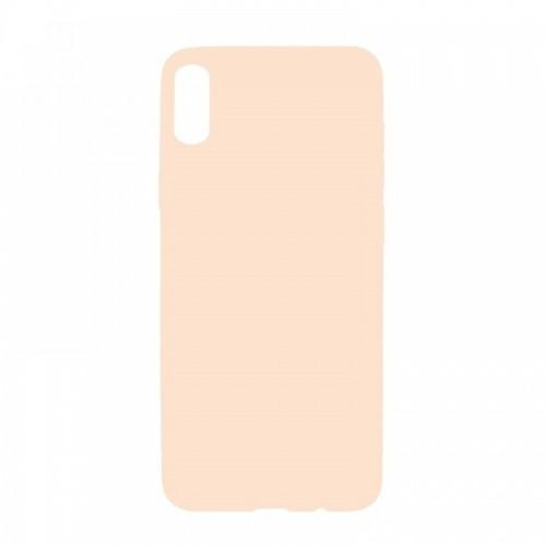 Θήκη MyMobi Σιλικόνης Mat Back Cover για Samsung Galaxy A12 (Σομόν)