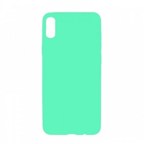 Θήκη MyMobi Σιλικόνης Mat Back Cover για Samsung Galaxy A12 (Βεραμάν)