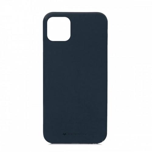Θήκη Goospery Soft Feeling Back Cover για iPhone 11 (Μπλε)