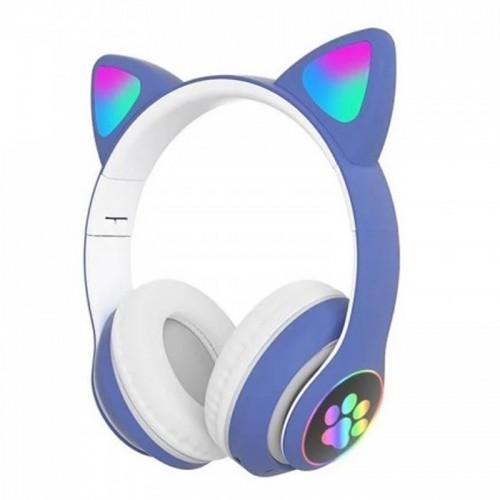 Ασύρματα Ακουστικά CAT STN-28 με LED Φωτισμό (Μπλε)