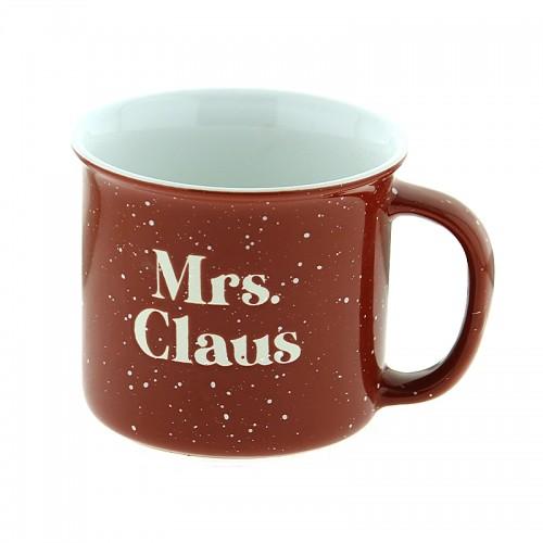 Κούπα Mrs. Claus 420ml (Κόκκινο-Άσπρο)