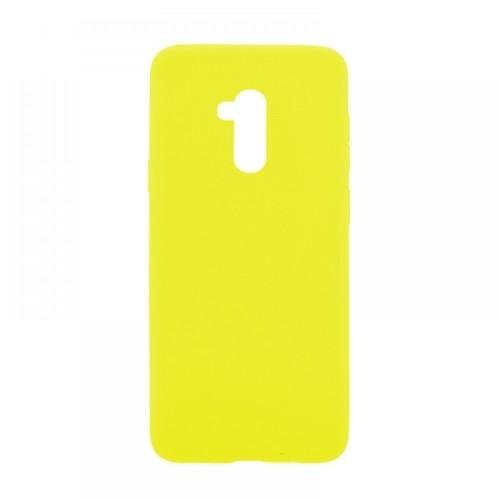 Θήκη MyMobi Σιλικόνης Mat Back Cover για Xiaomi Redmi 9C (Κίτρινο)