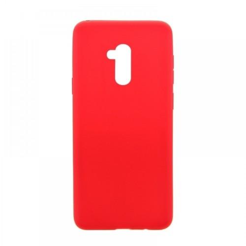 Θήκη MyMobi Σιλικόνης Mat Back Cover για Xiaomi Redmi 9C (Κόκκινο)