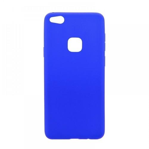 Θήκη MyMobi Σιλικόνης Mat Back Cover για iPhone 12 mini (Μπλε)