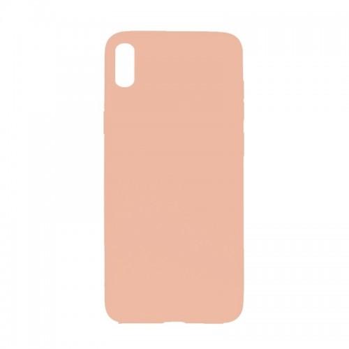 Θήκη MyMobi Σιλικόνης Mat Back Cover για iPhone 12 mini (Ροζ)