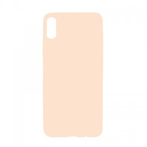Θήκη MyMobi Σιλικόνης Mat Back Cover για iPhone 12 mini (Σομόν)