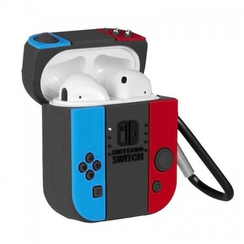 Θήκη Σιλικόνης Nintendo Switch για Apple AirPods (Design)