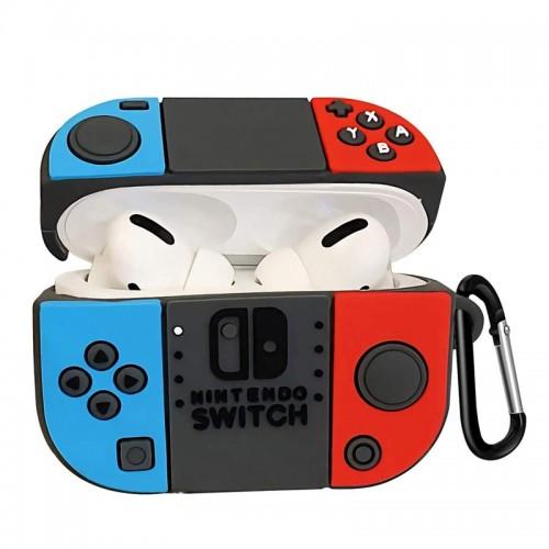 Θήκη Σιλικόνης Nintendo Switch για Apple AirPods Pro (Design)