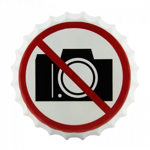 Διακοσμητικό Τοίχου Καπάκι No Photos (Design)