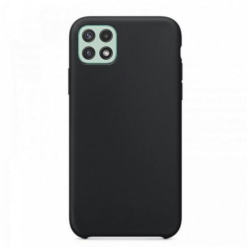 Θήκη OEM Silicone Back Cover για Samsung Galaxy A22 5G (Black)