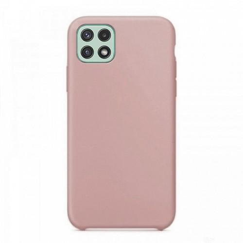 Θήκη OEM Silicone Back Cover για Samsung Galaxy A22 5G (Dusty Pink)