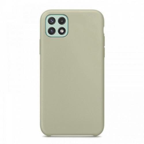 Θήκη OEM Silicone Back Cover για Samsung Galaxy A22 5G (Grey)