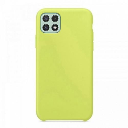 Θήκη OEM Silicone Back Cover για Samsung Galaxy A22 5G (Lemon Yellow)
