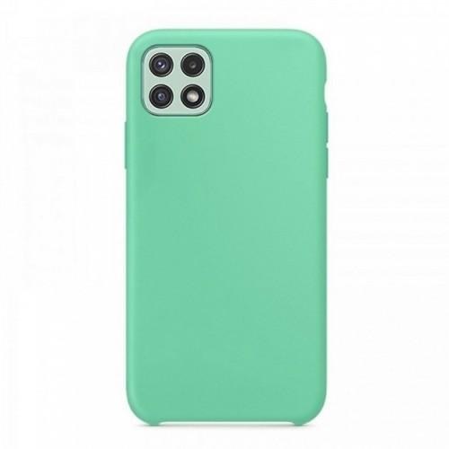 Θήκη OEM Silicone Back Cover για Samsung Galaxy A22 5G (Mint)