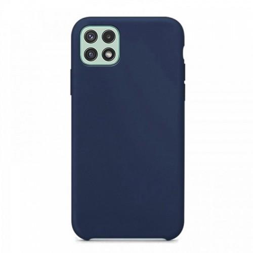 Θήκη OEM Silicone Back Cover για Samsung Galaxy A22 5G (Ocean Blue)