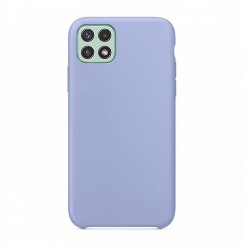 Θήκη OEM Silicone Back Cover για Samsung Galaxy A22 5G (Purple)