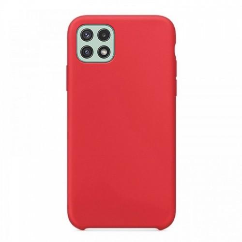 Θήκη OEM Silicone Back Cover για Samsung Galaxy A22 5G (Red)