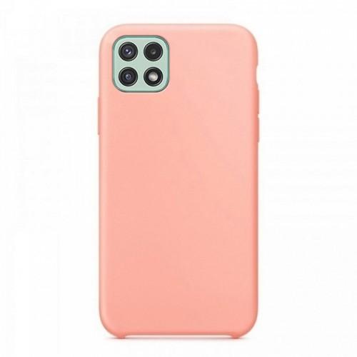 Θήκη OEM Silicone Back Cover για Samsung Galaxy A22 5G (Salmon)