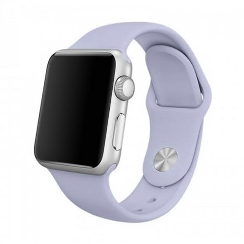 Ανταλλακτικό Λουράκι OEM Smoothband για Apple Watch 42/44mm (Ανοιχτό Μωβ)