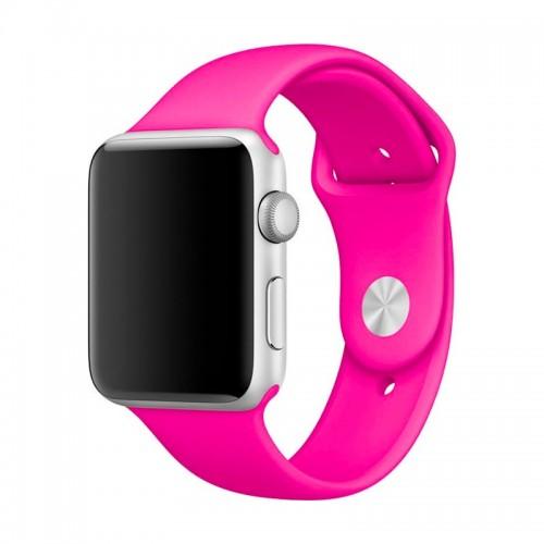 Ανταλλακτικό Λουράκι OEM Smoothband για Apple Watch 42/44mm (Φουξ)