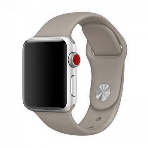 Ανταλλακτικό Λουράκι OEM Smoothband για Apple Watch 42/44mm (Γκρι)