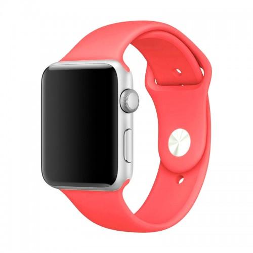 Ανταλλακτικό Λουράκι OEM Smoothband για Apple Watch 42/44mm (Κοραλί)
