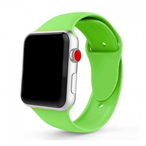 Ανταλλακτικό Λουράκι OEM Smoothband για Apple Watch 42/44mm (Λαχανί)