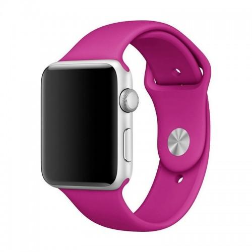 Ανταλλακτικό Λουράκι OEM Smoothband για Apple Watch 42/44mm (Magenta)