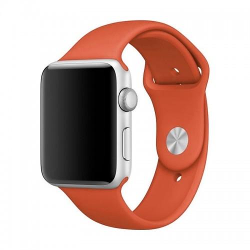 Ανταλλακτικό Λουράκι OEM Smoothband για Apple Watch 42/44mm (Maroon)