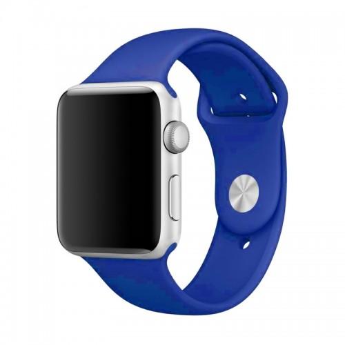 Ανταλλακτικό Λουράκι OEM Smoothband για Apple Watch 42/44mm (Midnight Blue)