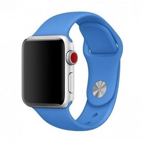 Ανταλλακτικό Λουράκι OEM Smoothband για Apple Watch 42/44mm (Μπλε)