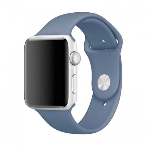 Ανταλλακτικό Λουράκι OEM Smoothband για Apple Watch 42/44mm (Ocean Blue)