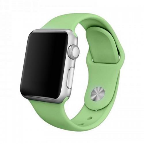 Ανταλλακτικό Λουράκι OEM Smoothband για Apple Watch 42/44mm (Pale Green)