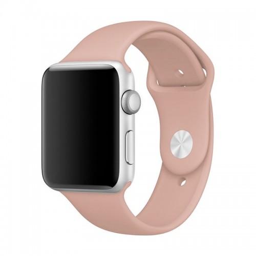 Ανταλλακτικό Λουράκι OEM Smoothband για Apple Watch 42/44mm (Pink Sand)
